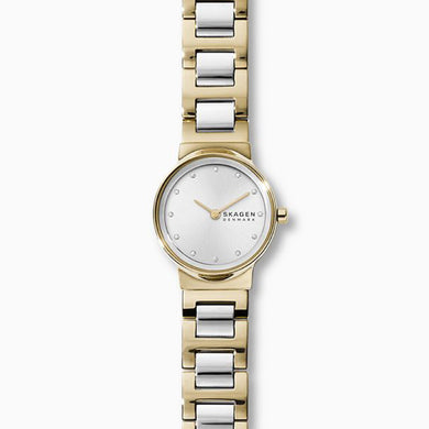 Skagen Ladies' Freja Two Tone Steel Link Watch SKW2790