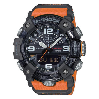 Casio G-Shock Master Of G Series Mudmaster Orange Resin Band Watch GGB100-1A9 GG-B100-1A9