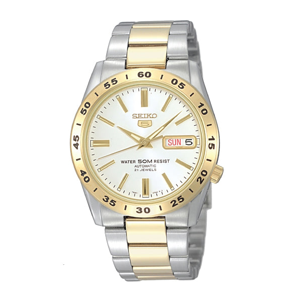 Seiko 5 Sports Automatic Two-tone Stainless Steel Band Watch SNKE04K1 | Watchspree