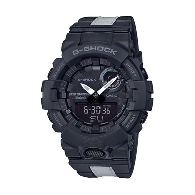Casio G-Shock G-SQUAD Bluetooth¨ GBA-800 Series Black Resin Band Watch GBA800LU-1A GBA-800LU-1A
