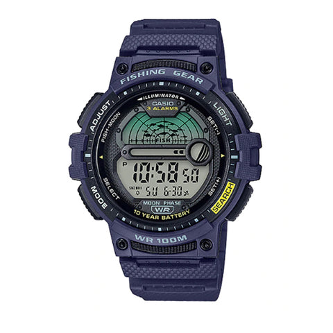 Casio Outgear Series Blue Resin Band Watch WS1200H-2A WS-1200H-2A