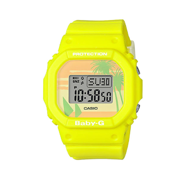 Casio Baby-G BGD-560 Lineup Special Color Models Yellow Resin Band Watch BGD560BC-9D BGD-560BC-9