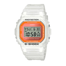 Load image into Gallery viewer, Casio G-Shock DW-5600 Lineup Special Colour Model White Semi-Transparent Resin Band Watch DW5600LS-7D DW-5600LS-7