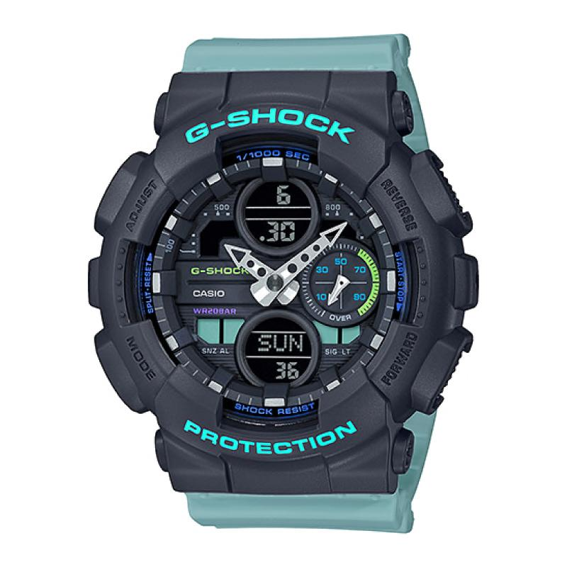 Casio G-Shock S Series GMA-S140 Lineup Blue Resin Band Watch GMAS140-2A GMA-S140-2A