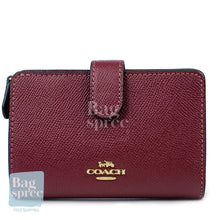 Load image into Gallery viewer, Coach Medium Corner Zip Wallet Red F11484 IMWIN