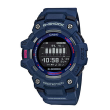 Load image into Gallery viewer, Casio G-Shock G-SQUAD Bluetooth® Blue Resin Band Watch GBD100-2D GBD-100-2