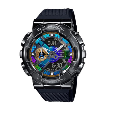 Casio G-Shock GM-110 Lineup Black Resin Band Watch GM110B-1A GM-110B-1A