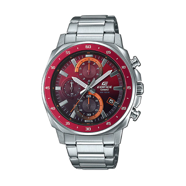 Casio Edifice Stainless Steel Band Watch EFV600D-4A EFV-600D-4A