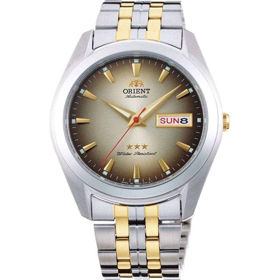 Orient Men's TriStar Automatic Two Tone Stainless Steel Strap Watch RA-AB0031G19B  | Watchspree