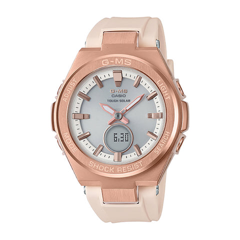 Casio Baby-G G-MS Lineup Pink Resin Band Watch MSGS200G-4A MSG-S200G-4A