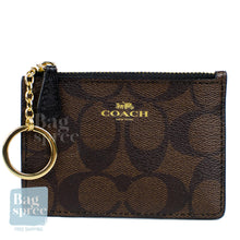Load image into Gallery viewer, Coach Mini Skinny ID Case Brown, Black F16107 IMAA8