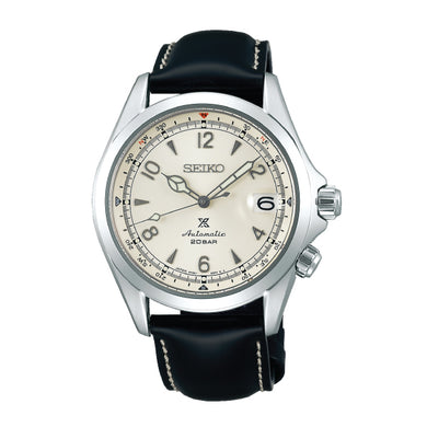 Seiko Prospex (Japan Made) Automatic Black Calfskin Leather Strap Watch SPB119J1 (LOCAL BUYERS ONLY)