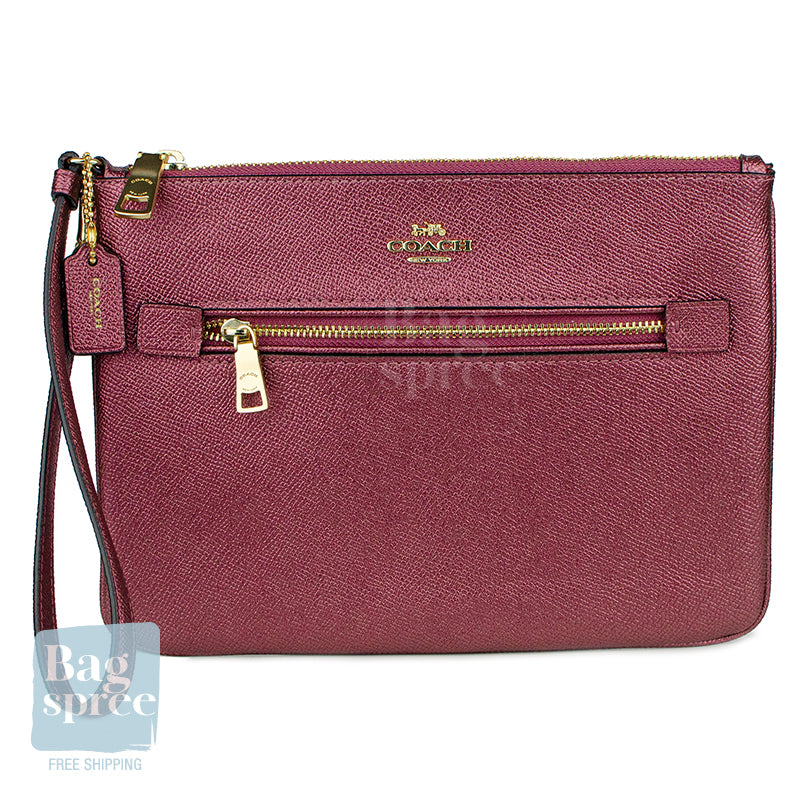 Coach Gallery Pouch Red F79895 IMPJT