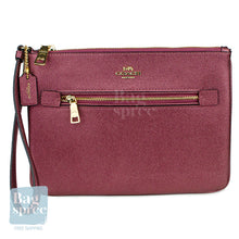 Load image into Gallery viewer, Coach Gallery Pouch Red F79895 IMPJT