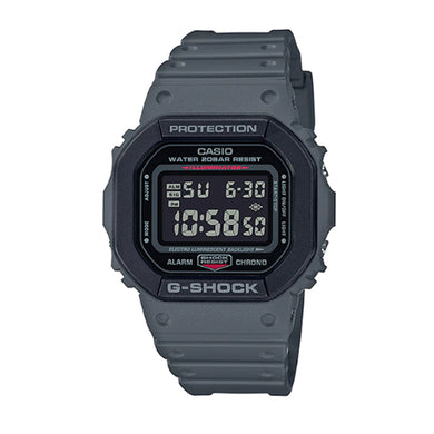 Casio G-Shock DW5600 Special Colour Series Grey Resin Band Watch DW5610SU-8D DW-5610SU-8