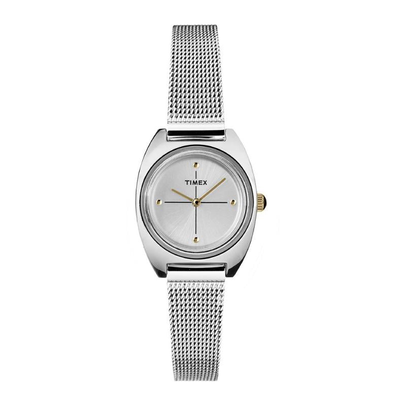 Timex Milano Petite 24mm Stainless Steel Mesh Band Watch TW2T37700