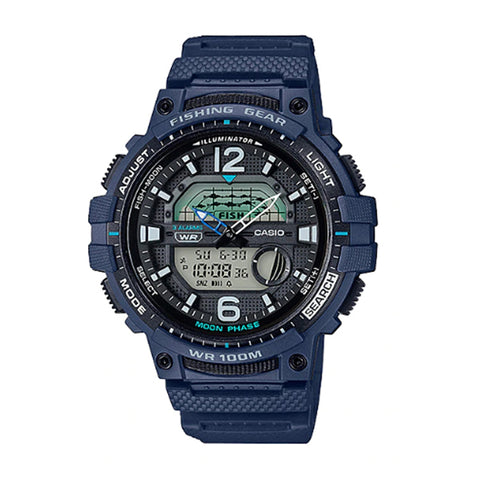 Casio Outgear Series Blue Resin Band Watch WSC1250H-2A WSC-1250H-2A