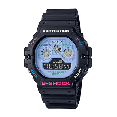Casio G-Shock DW-5900 Lineup Special Color Models Black Resin Band Watch DW5900DN-1D DW-5900DN-1