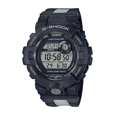 Casio G-Shock G-SQUAD Bluetooth¨ GBD-800 Series Black Resin Band Watch GBD800LU-1D GBD-800LU-1D GBD-800LU-1