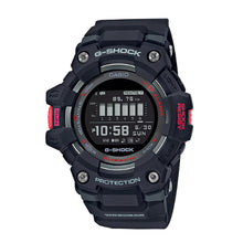 Load image into Gallery viewer, Casio G-Shock G-SQUAD Bluetooth® Black Resin Band Watch GBD100-1D GBD-100-1