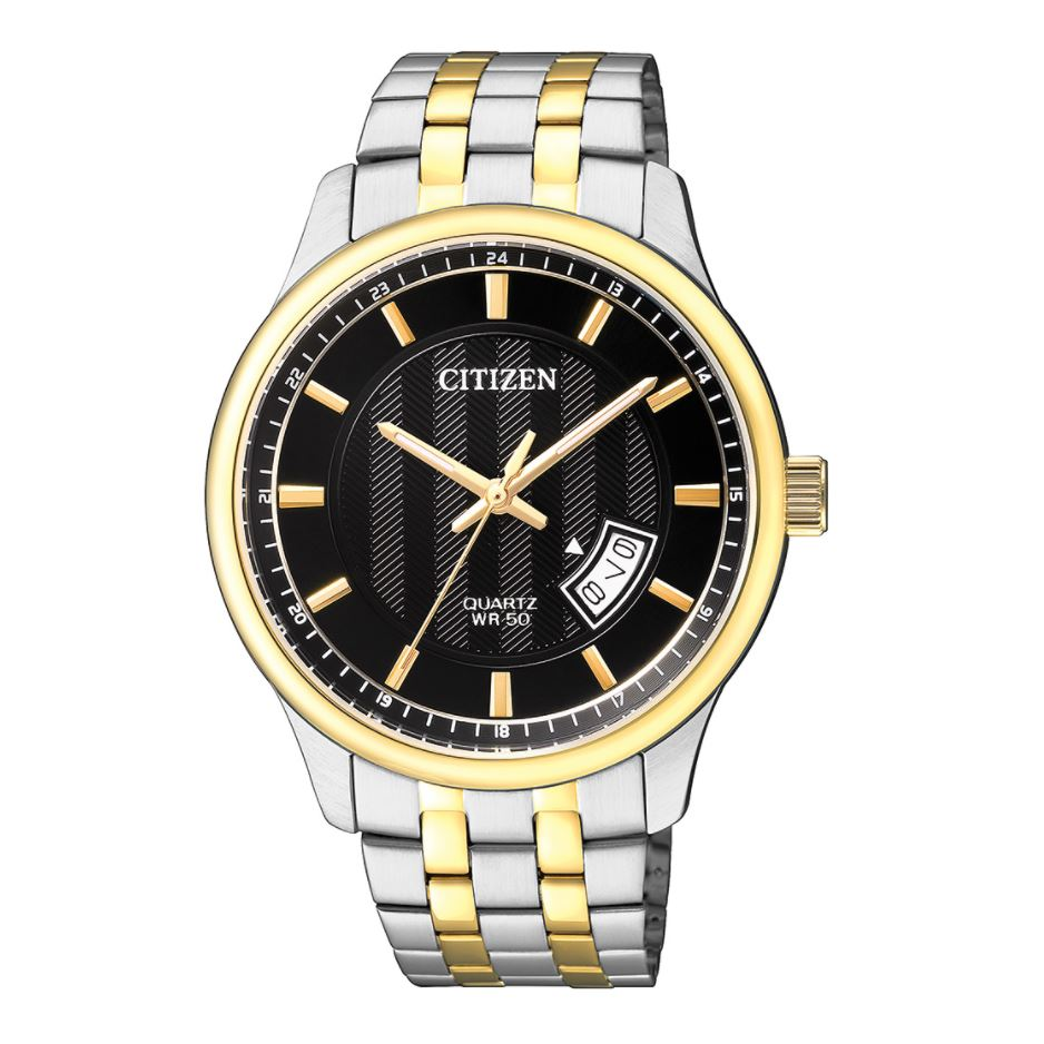 Citizen Men's Quartz Two Tone Stainless Steel Watch BI1054-80E
