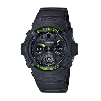 Casio G-Shock AWR-M100 Lineup Special Color Models Black Resin Band Watch AWRM100SDC-1A AWR-M100SDC-1A