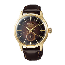 Load image into Gallery viewer, Seiko Presage (Japan Made) Automatic Limited Edition Dark Brown Calfskin Leather Strap Watch SSA392J1 | Watchspree