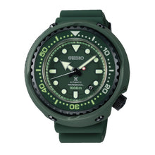 Load image into Gallery viewer, Seiko Prospex (Japan Made) Mobile Suit Gundam 40th Anniversary Limited Edition Automatic Professional Green Silicone Strap Watch SLA029J1 (LOCAL BUYERS ONLY)