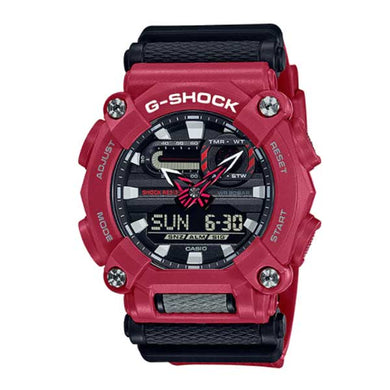 Casio G-Shock GA-900 Lineup Red Resin Band Watch GA900-4A GA-900-4A