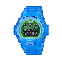 Load image into Gallery viewer, Casio G-Shock DW-6900 Lineup Special Colour Model Blue Semi-Transparent Resin Band Watch DW6900LS-2D DW-6900LS-2D DW-6900LS-2