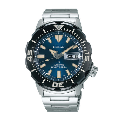 Seiko Prospex DiverScuba Silver Stainless Steel Band Watch SRPD25K1