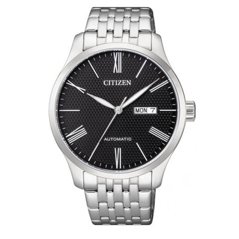 Citizen Mechanical Automatic Stainless Steel Band Watch NH8350-59E