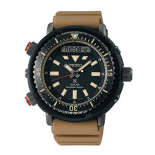 Load image into Gallery viewer, Seiko Prospex Solar Diver's Tan Silicone Strap Watch SNJ029P1 (LOCAL BUYERS ONLY)