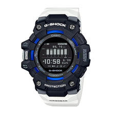 Load image into Gallery viewer, Casio G-Shock G-SQUAD Bluetooth® White Resin Band Watch GBD100-1A7 GBD-100-1A7