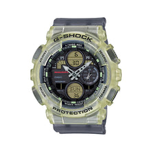 Load image into Gallery viewer, Casio G-Shock for Ladies' GMA-S140 Lineup MISCHIEF Collaboration Model Semi-Transparent Black Resin Band Watch GMAS140MC-1A GMA-S140MC-1A