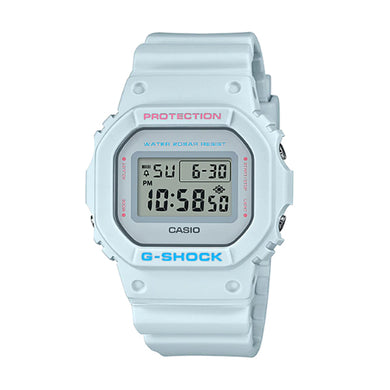 Casio G-Shock DW-5600 Lineup Special Color Models Pale Grey Resin Band Watch DW5600SC-8D DW-5600SC-8