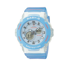 Load image into Gallery viewer, Casio Baby-G AQUAPLANET Collaboration Model Blue Semi-Transparent Resin Band Watch BGA270AQ-2A BGA-270AQ-2A