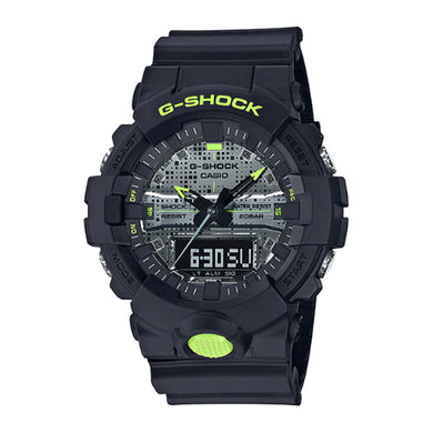 Casio G-Shock GA-800 Lineup Special Color Models Black Resin Band Watch GA800DC-1A GA-800DC-1A
