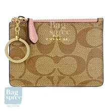 Load image into Gallery viewer, Coach Mini Skinny ID Case Brown, Pink F16107 IMP52