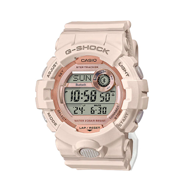 Casio G-Shock G-Squad for Ladies' GBA-800 Lineup Pink Resin Band Watch GMDB800-4D GMD-B800-4