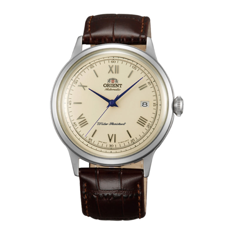 Orient Men's 2nd Generation Bambino Automatic Brown Leather Strap Watch FAC00009N0  | Watchspree