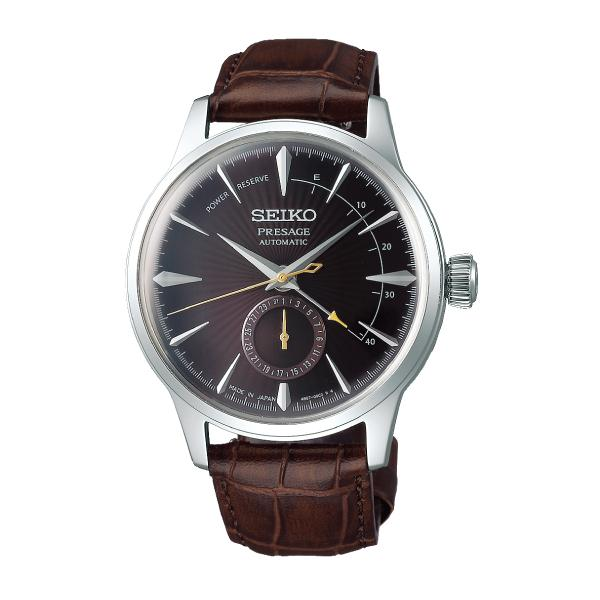 [JDM] Seiko Presage (Japan Made) Automatic Brown Calf Leather Strap Watch SARY135 SARY135J | Watchspree