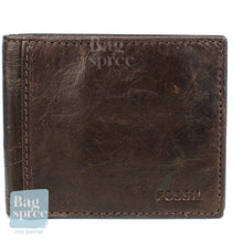 Load image into Gallery viewer, Fossil Men's Leather Wallet Brown ML3254200