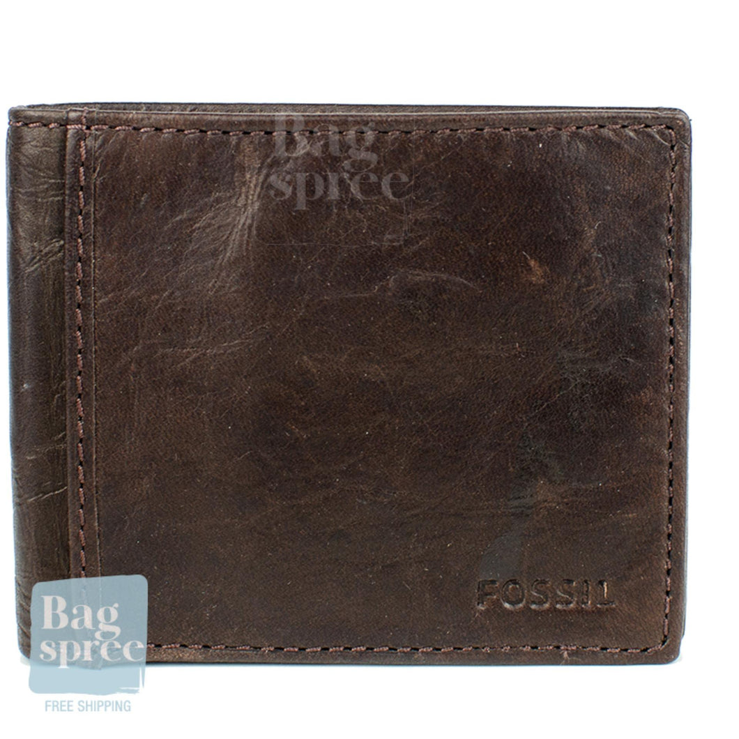 Fossil Men's Leather Wallet Brown ML3254200
