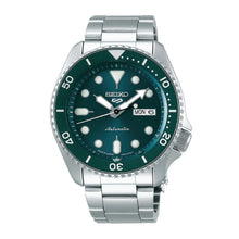 Load image into Gallery viewer, [JDM] Seiko 5 Sports (Japan Made) Automatic Silver Stainless Steel Band Watch SBSA011