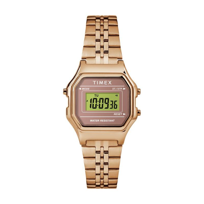 Timex Ladies' Digital Mini 27mm Bracelet Watch TW2T48300