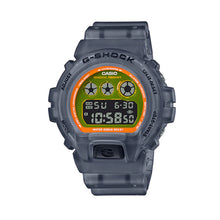 Load image into Gallery viewer, Casio G-Shock DW-6900 Lineup Special Colour Model Black Semi-Transparent Resin Band Watch DW6900LS-1D DW-6900LS-1D DW-6900LS-1