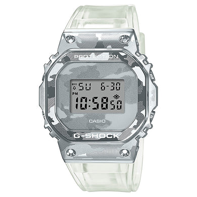 Casio G-Shock GM-5600 Lineup Special Colour Model Transparent Camouflage Band Watch GM5600SCM-1D GM-5600SCM-1D GM-5600SCM-1