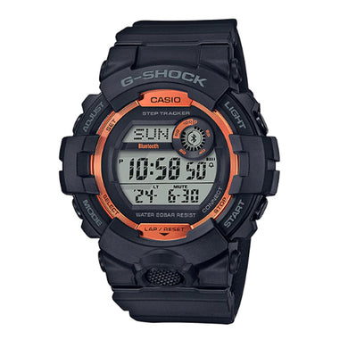 Casio G-Shock G-SQUAD Bluetooth® Black Resin Band Watch GBD800SF-1D GBD-800SF-1