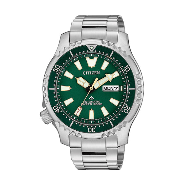 Citizen Limited Edition Promaster Automatic Diver Stainless Steel Band Watch NY0099-81X | Watchspree